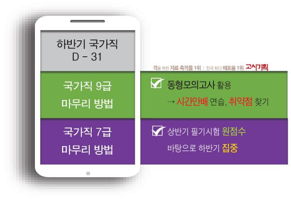 국가직 하반기 필기시험 '한 달 앞으로'